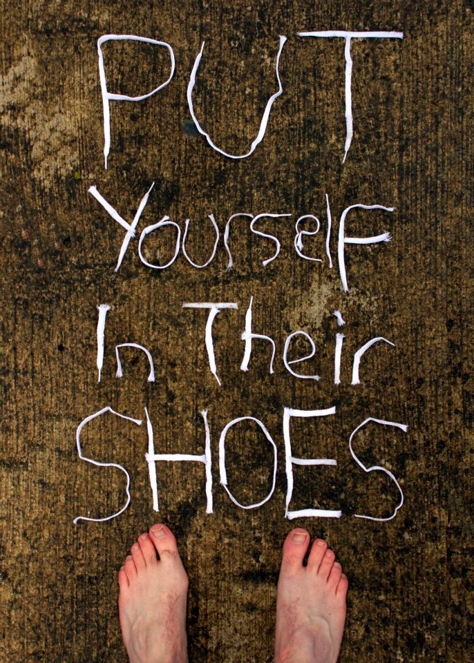 Word For Putting Yourself In Other S Shoes