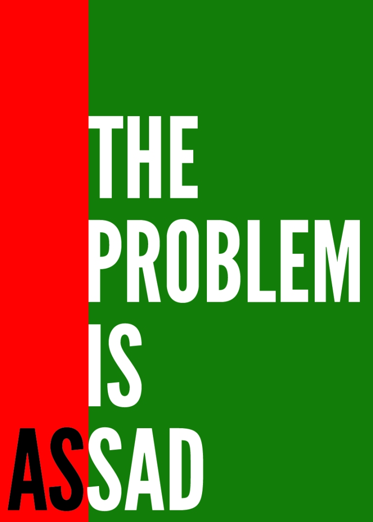 The problem is sad.  The problem is Assad