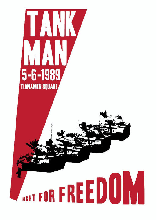 Right for freedom - Tank Man - Christopher Scott