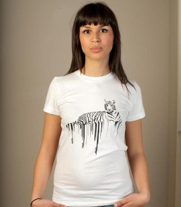 white tiger melts - tshirt 2