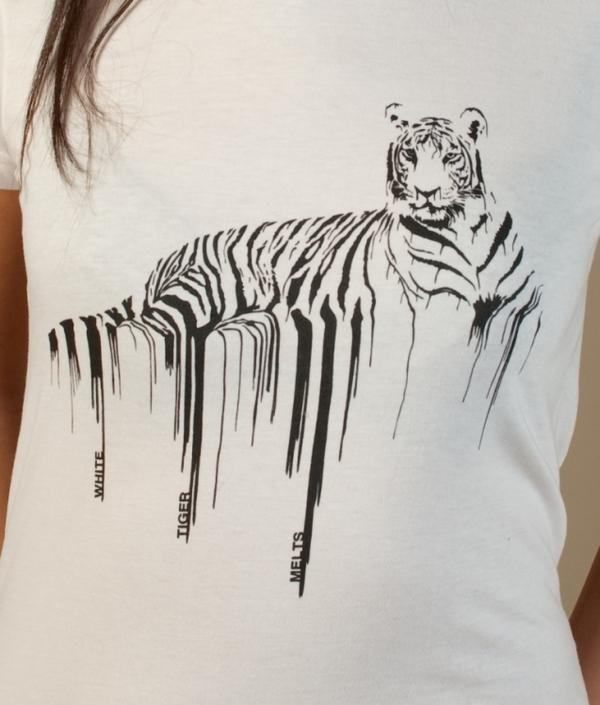 white tiger melts - tshirt 4