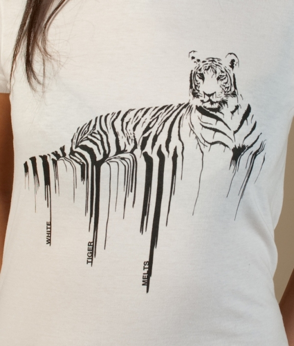 white tiger melts - tshirt 4