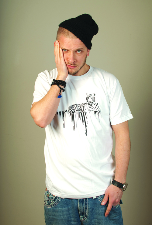 white tiger melts - tshirt