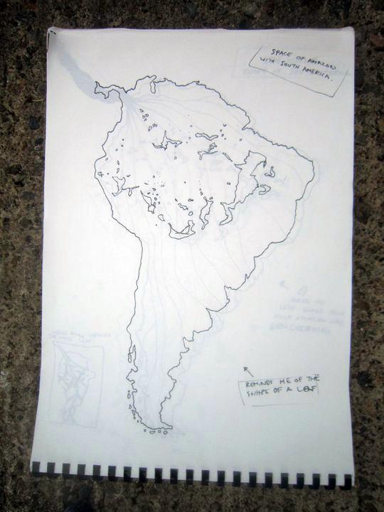 Dead Leaf original concept sketch - January 2008