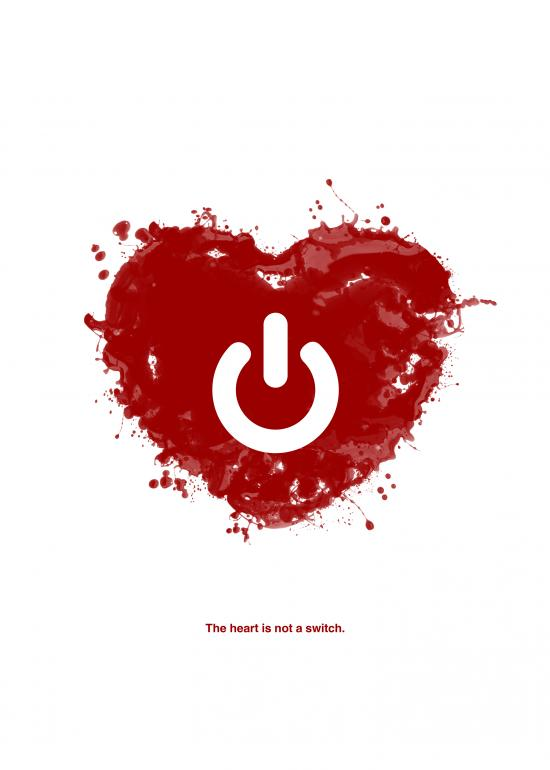 The heart is not a switch