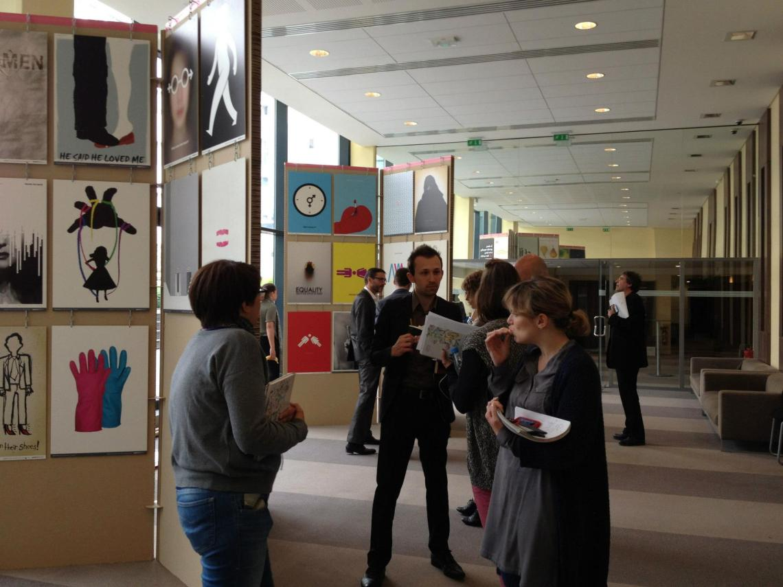 Female Surrounded at the 125th Gender Equality exhibition in Paris 2