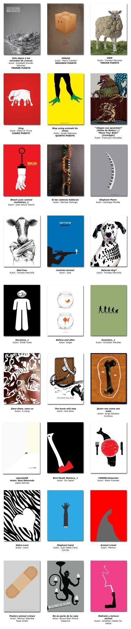 Viksual Finalist posters