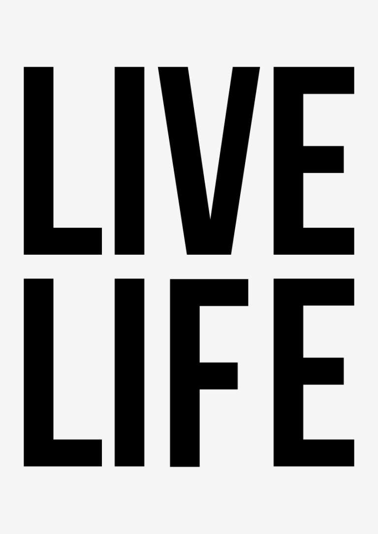 LIVE LIFE by Christopher Scott