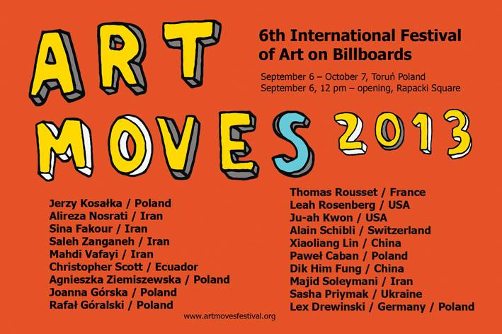art moves 2013