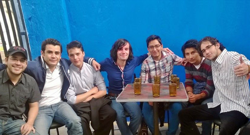 Me with some of the best designers in Ecuador.