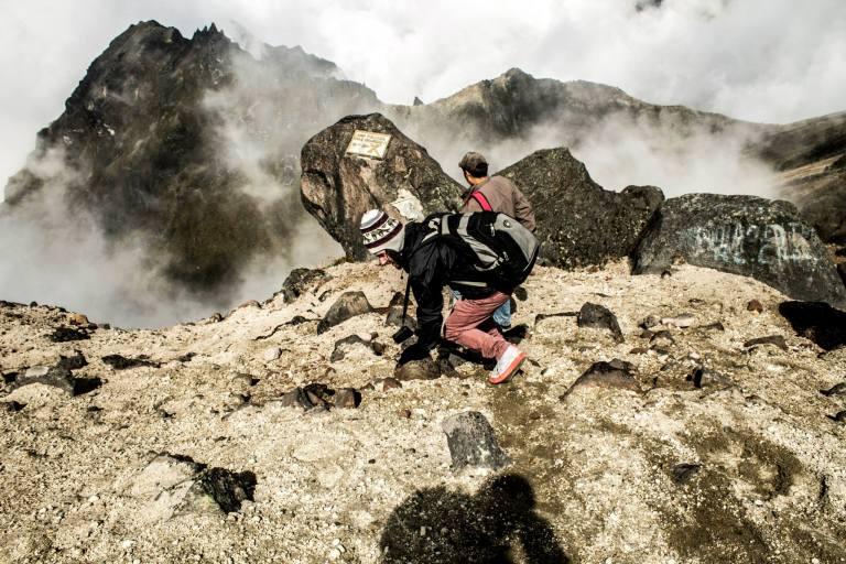 guagua volcano