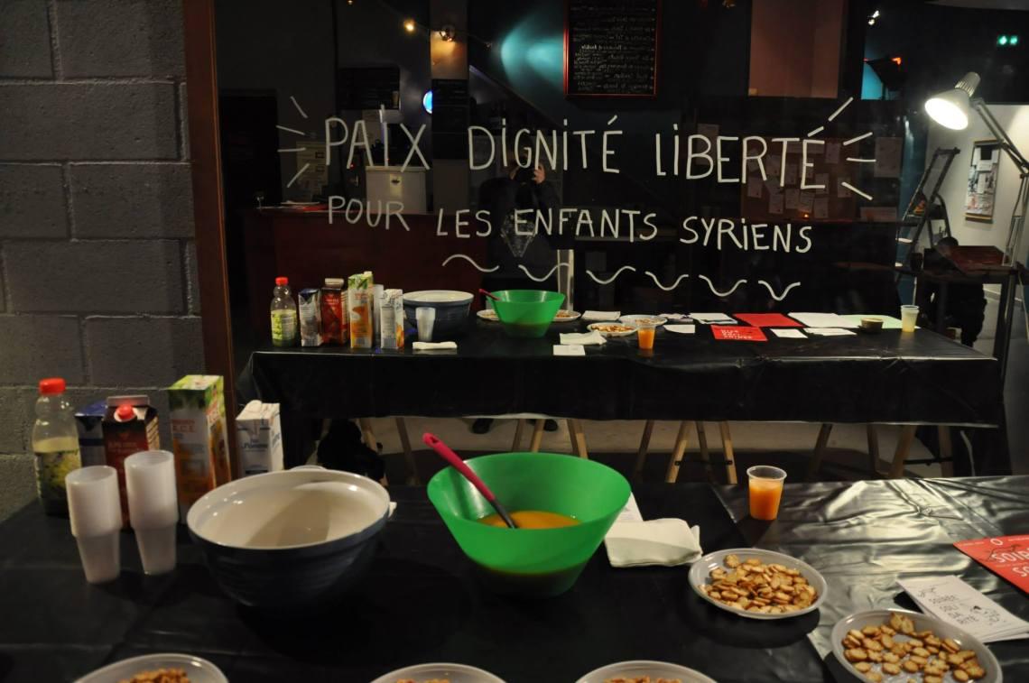Posters for Syria - Théâtre El Duende, France 6