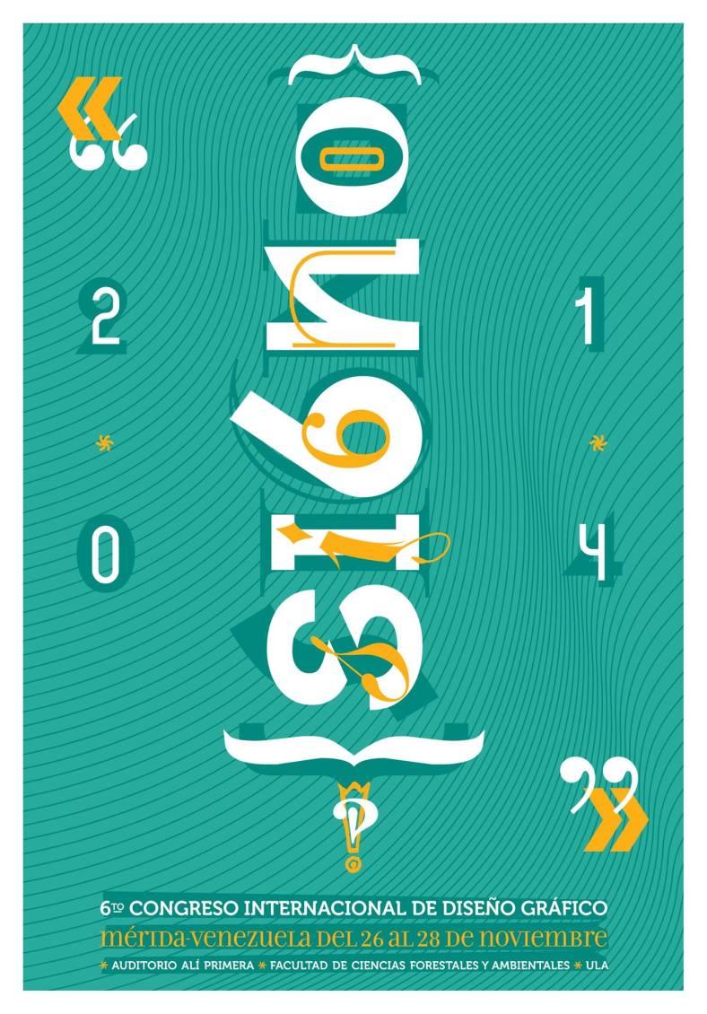6to Congreso Internacional de Diseño Gráfico Signo 2014