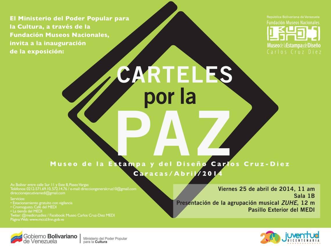 Carteles por la Paz - Venezuela