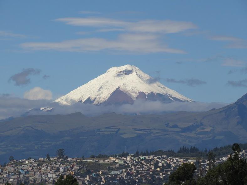 Cotopaxi Volcano, Ecuador - low res