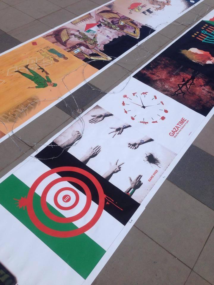 Gaza Poster Exhibition - Turkey 10