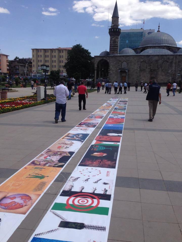 Gaza Poster Exhibition - Turkey 11