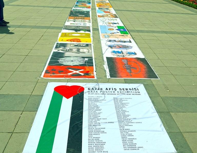 Gaza Poster Exhibition - Turkey 3