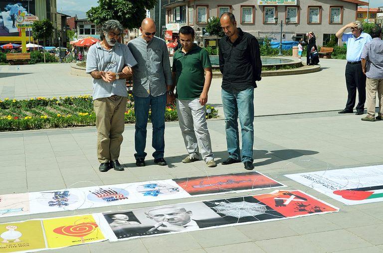 Gaza Poster Exhibition - Turkey 4