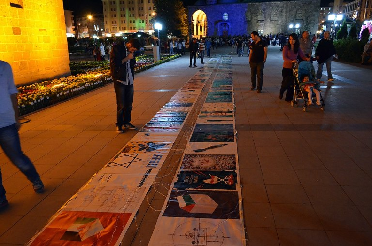 Gaza Poster Exhibition - Turkey 5