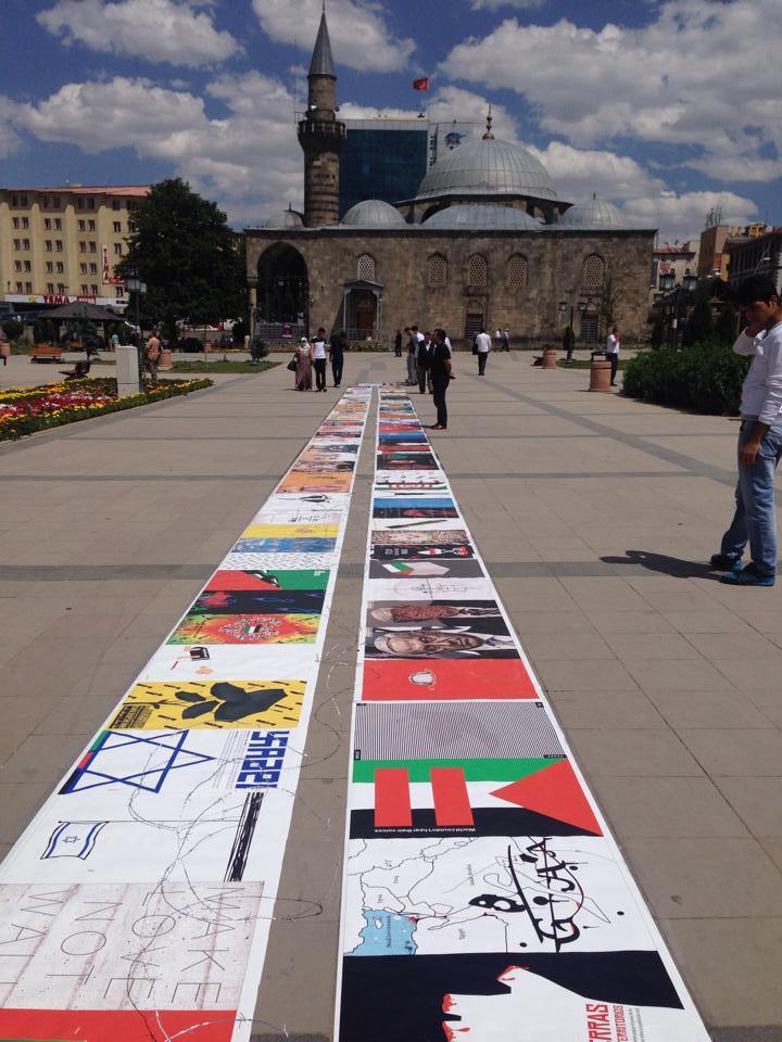Gaza Poster Exhibition - Turkey 7