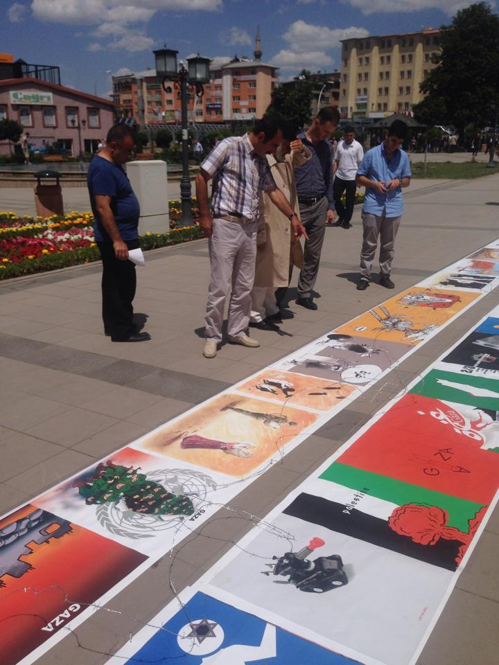 Gaza Poster Exhibition - Turkey 8