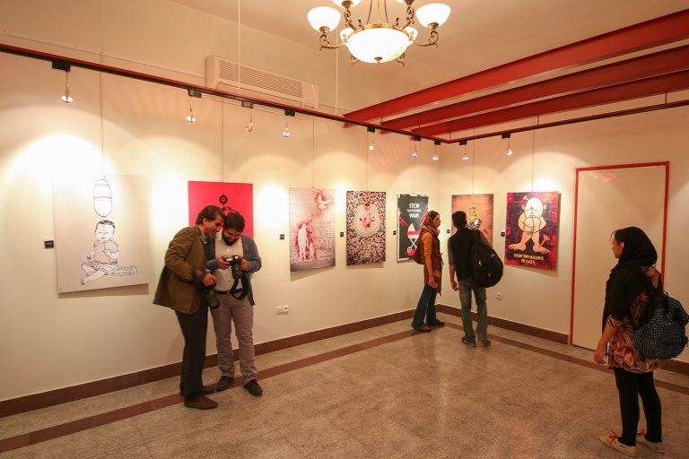 FOR GAZA exhibition in Iran 2