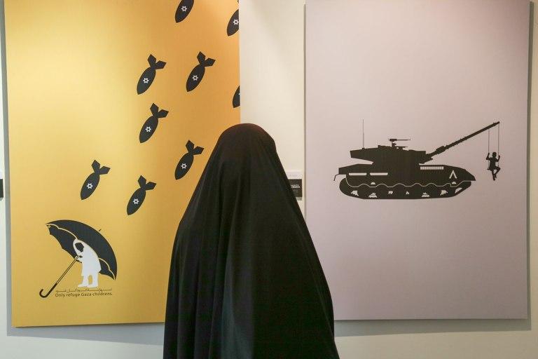FOR GAZA exhibition in Iran 4