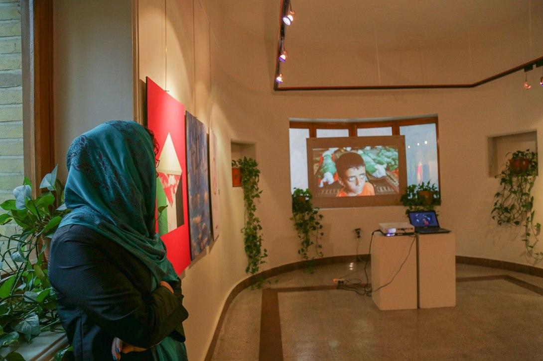 FOR GAZA exhibition in Iran 5