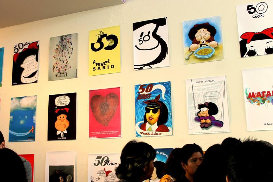 Tributo 50 Años de Mafalda 1