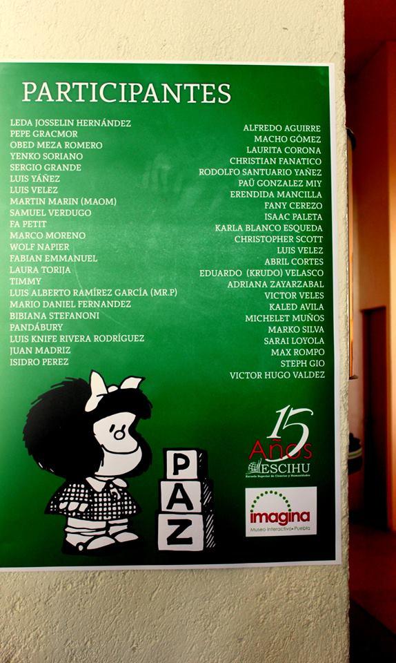 Tributo 50 Años de Mafalda 2
