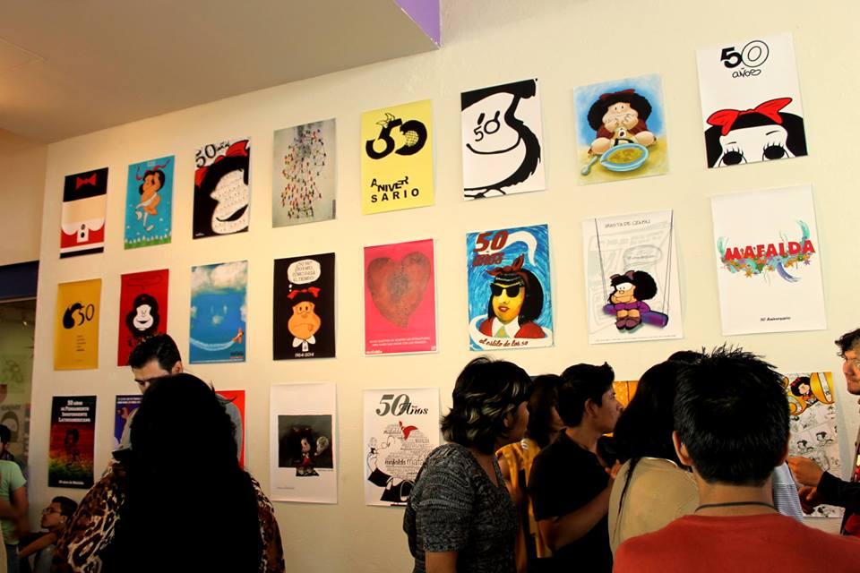 Tributo 50 Años de Mafalda 4