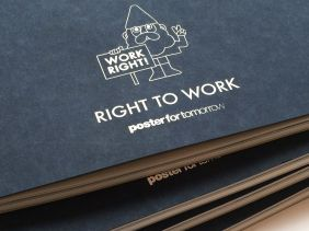 Poster for tomorrow, Work Right 2014 catalogue 1