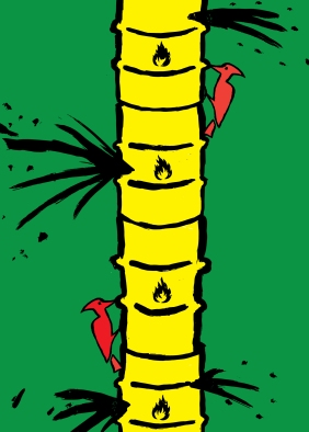 Oil-Woodpecker-Christopher-Scott