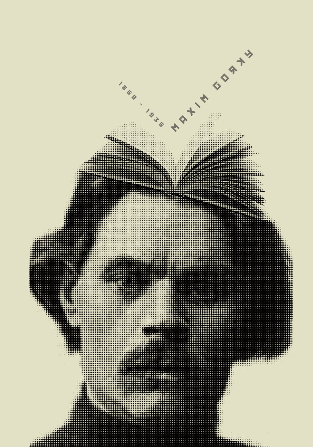 Book-Head-Maxim-Gorky